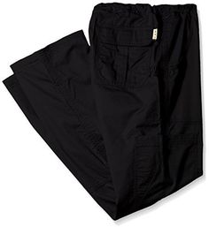 82a215de37e Koi Men's Big and Tall James Elastic-Waist Scrub Pants with Zip Fly and  Drawstring