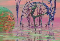 "Bryce, Series ""Otherworld"", 1999/2000 Digital Art, Painting, Paintings, Draw, Drawings"
