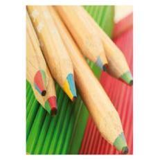 Crayon couleur publicitaire Mine 4 couleurs