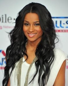 Swell Cute Center Part Hairstyles For African American Long Hairstyles Short Hairstyles For Black Women Fulllsitofus