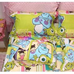 Hailee Mae Wants This For Her Birthday Monster University Bedding Set Inc