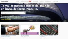 COURSERA, cursos universitarios gratuitos en línea.