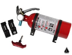 Buy Assault Industries Polaris RZR Quick Release Fire Extinguisher Mount by at the Best Price with Fast Shipping! Rzr 1000 Accessories, Side By Side Accessories, Rzr Turbo, Polaris Rzr Xp 1000, Jeep Parts, Class B, Pressure Gauge, Safety And Security