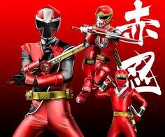 Red Ninja Rangers