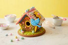 gingerbread easter birdhouse
