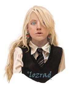 Luna Lovegood by lozrad