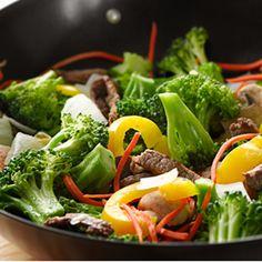 Stir Fry Beef and Vegetables
