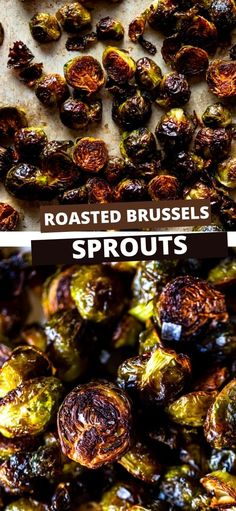 These Easy Roasted Brussels Sprouts have only four ingredients and are so simple to make! Brussels Sprouts make a great side dish for a weeknight dinner or even a special holiday meal like Thanksgiving or Christmas!