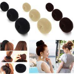 Vendita calda Sfera Delle Ragazze Headwear Disk Donuts Dei Capelli del Piatto Parrucchiere Tools For Women Capelli Accessori diademas para mujer legami dei capelli