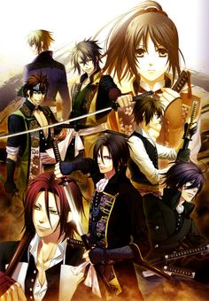 Hakuouki - I don't know what I was thinking when I started watching this. So good and so horrible. UGH.