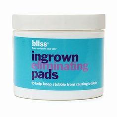 Bliss Ingrown Eliminating Pads - 50 Pads