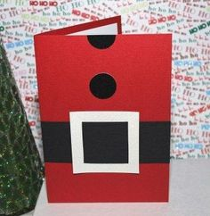 15 DIY Christmas Cards Kids Can Make; a collection of 15 amazing yet simple Christmas Card Craft ideas for kids from toddler to teen! Christmas Card Crafts, Homemade Christmas Cards, Christmas Cards To Make, Christmas Activities, Handmade Christmas, Holiday Crafts, Homemade Cards, Santa Christmas, Santa Cards Handmade
