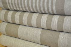 100 LINEN Decorator Fabric  EUROPEAN FLAX  by LinenSymphony, $45.00