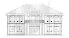 Fasade Odel - et kataloghus fra Norgeshus. Floor Plans, Lily, Floor Plan Drawing