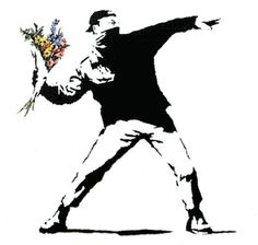 Banksy. If it were really like this. The world would be a better place