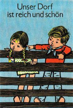 Werner Klemke, 1961 Book Illustration, Memories, Artists, Funny, Movie Posters, Inspiration, Vintage, Visual Arts, Agriculture