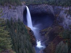 Helmcken Falls, Thompson-Nicola, BC, Canada : travel