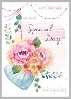 Victoria Nelson - Glass Jar Special Day Flowers Copy