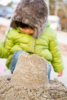 Winter Sand castles