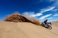 KTM rider Sjaak Martens of the Netherlands rides during the fourth stage of the Dakar Rally 2015, from Chilecito to Copiapo, Wednesday. REUTERS/Jean-Paul Pelissier