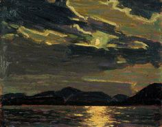 TOM THOMSON Hot Summer Moonlight (1915)