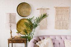Macrame wall hangings, handmade in Philadelphia, Maggpie styling ...