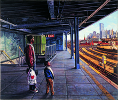 Baker, Garin Waiting for the Train Visual Thinking Strategies, Grade 2, Pictures, Image, Waiting, Train, Art, School, Photos