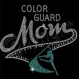 Colorguard Mom Rhinestones. My mom needs this!