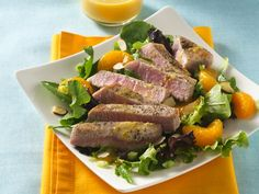 Ahi Tuna Salad with Citrus-Cilantro Vinaigrette - 6 ww points +
