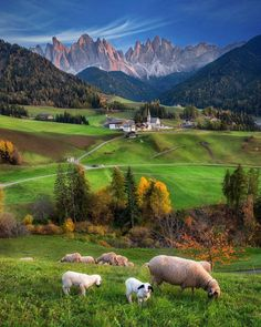 somewhere, Alps, or Dolomites, perhaps