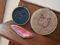 Beginning embroidery and sewing with kids (@Anna Helgadottir*Made)
