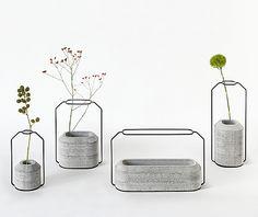 Weight Vases by Thai designer, Decha Archjananun