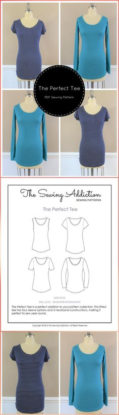 Top 40 Free T-Shirt Sewing Patterns for Women & Kids - Page 6 of 8 - DIY & Crafts