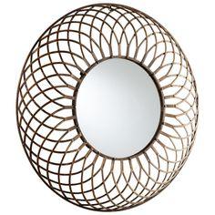 Fairplex Mirror by Cyan Design - Seven Colonial