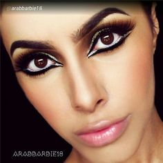 """By @arabbarbie18 """"Upclose full face look from yesterday. Products from @motivescosmetics @lashesbylena @BornPrettyStore"""" via @PhotoRepost_app ------------------------------------------- Motives products can be found here: www.my123beauty.com"""