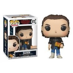 Funko Eleven Punk, Box Lunch Exclusive, Stranger Things, Netflix, Series, Funkomania