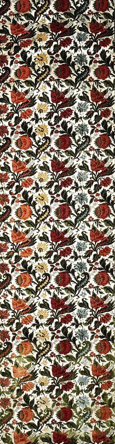Length of Velvet, late 17th-early 18th century, Italian, silk. Metropolitan Museum of Art.