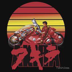 Akira Kaneda Anime Japan Motorcycle