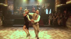 Lindy hop example.  Can be danced to 30s/40s swing or New Orleans style jazz as this example