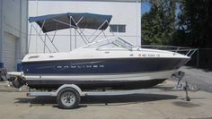2007 Bayliner 192 Discovery Cuddy Cabin, 3.0L Mercruiser, 135hp, Karavan galvanized single axle trailer with brakes, bimini top with boot, 2nd bimini top with camper canvas, DF, V-berth, fiberglass deck, ski-tow, bottom paint #16951