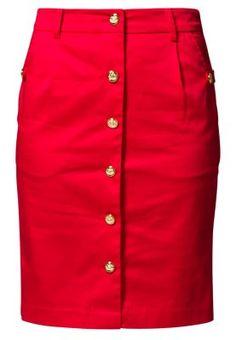 A Wear Bleistiftrock devil red