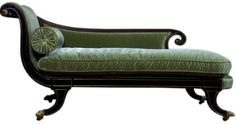regency furniture  | Regency-Parcel-Gilt-and-Ebonized-Chaise-Lounge-Seller-Coup-D-Etat2
