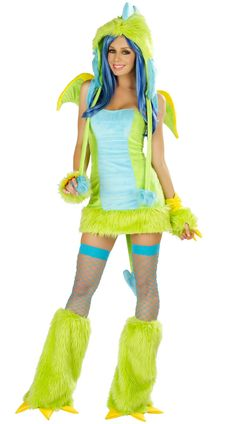 GREEN DINOSAUR PLUSH ANIMAL COSTUMES HALLOWEEN CARNIVAL CHRISTMAS COSPLAY COSTUMES FOR WOMEN LADIES FANCY DRESS PARTY ROLEPLAY