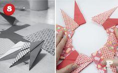 Lets make super easy and fun paper origami stars. Vi gör snygga julstjärnor i oregami