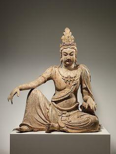Bodhisattva Avalokiteshvara In Water Moon Form...