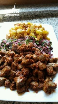 Albanian Gras (With Tricks)- Arnavut Ciğeri (püf Noktaları İle) Albanian Gr. Albanian Gras (With Tricks)- Arnavut Ciğeri (püf Noktaları İle) Albanian Gras (With Tricks) - World Recipes, Meat Recipes, Cooking Recipes, Healthy Recipes, Appetizer Salads, Best Appetizers, What Can I Eat, Turkish Recipes, Kebabs