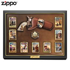 John Wayne: Great American West Zippo Lighter Collection