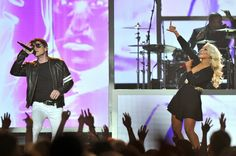 Billboard Music Awards Score Highest Ratings in 12 Years - ByPhil Gallo, Las Vegas| May 20, 2013 12:47 PM Morten Harket and Christina Aguilera perform onstage at the 2013 Billboard Music Awards in Las Vegas.  0002The Billboard Music Awards had a viewing audience of 9.47 million, a 28 percent spike over 2012's audience of 7.4 million viewers, Nielsen reported. The show was No. 1 Sunday night in the advertiser-coveted 18-49 demographic, pulling in 4.6 million viewers in the age…