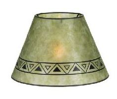 Mica Lamp Shade Gorgeous Golden Hexagon Style Mica Lampshade  Mica Lamp Shades  Pinterest Inspiration