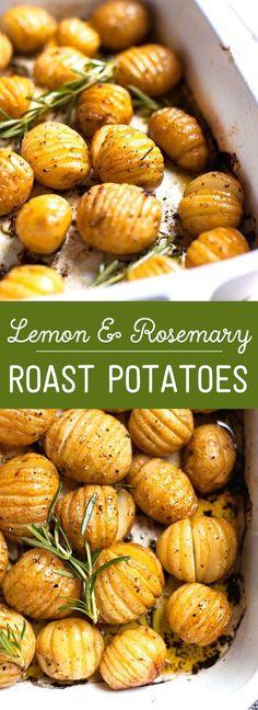 Rosemary and Lemon Roasted Baby Potatoes